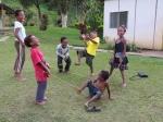 Officer and staff children on Goroka compound.