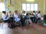 My last time leading the Koki Band - they sounded great!